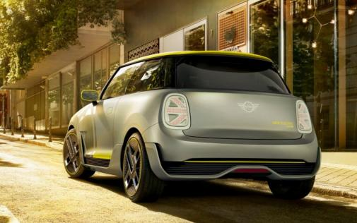 MINI Electric Concept Heckansicht